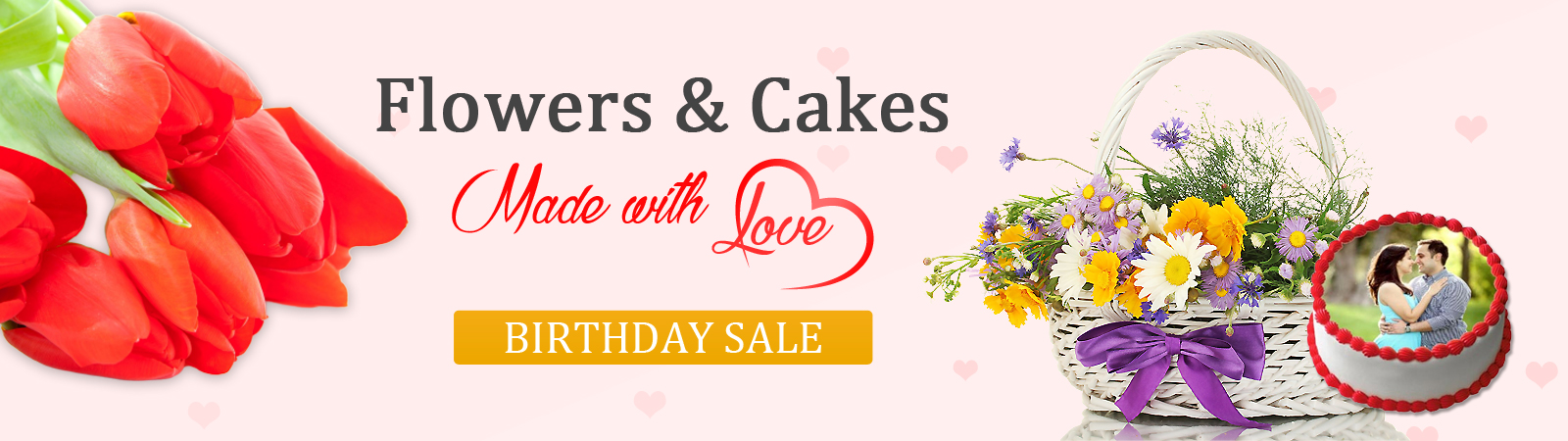 Send Flowers and Cake Online