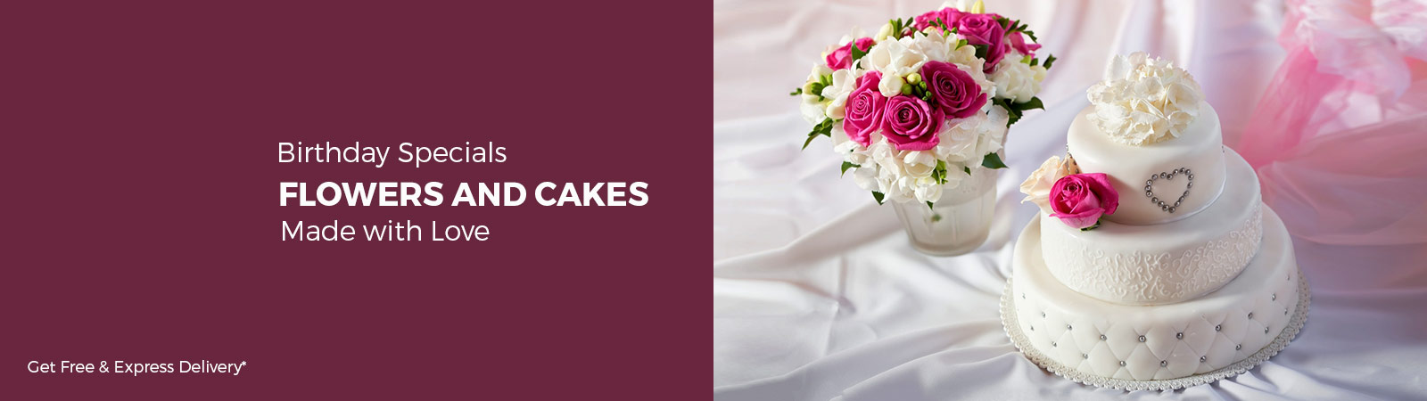 Flowers and Cake Delivery