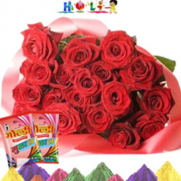 Holi Gifts Flowers Bouquets