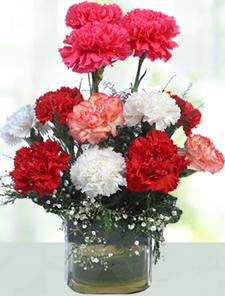 V-Day -Glass Vase