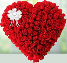 V-Day -Heart Shape Arrangement