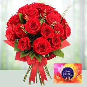 V-Day -Flowers N Chocolates