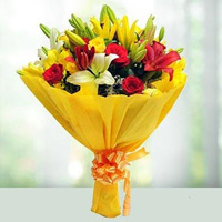 send a bouquet of flowers in mumbai