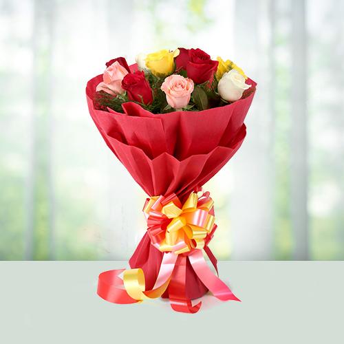 10 Mix Roses