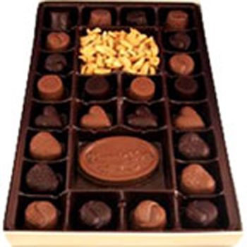 26Pc Thank You Box Assorted Chocolates