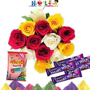 Holi Chocolaty Love