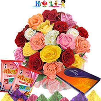 Colorful Celebrations-Holi