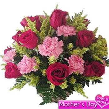 Mothers Day Flower Basket