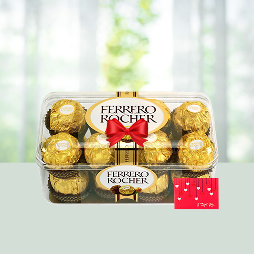 Evergreen Gift- 16 Ferrero Rocher Chocolates Box