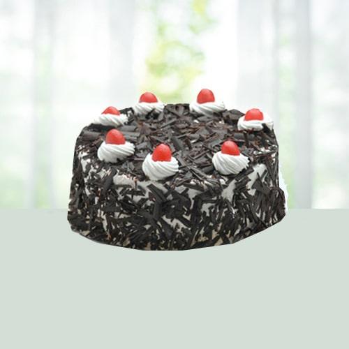 Eggless Blackforest Cake Half Kg