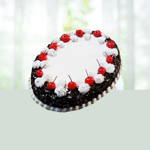 Oval Blackforest Cake 1kg