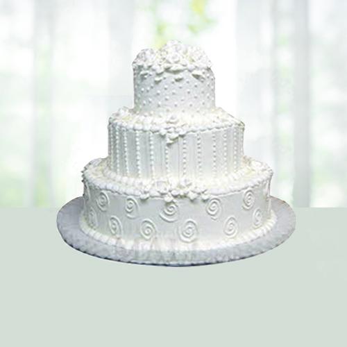 3 Tier Pineapple Cake