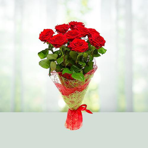 9 Roses Bouquet