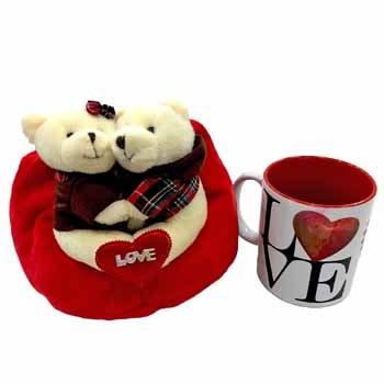 A Lovey Dovey couple with Love Mug
