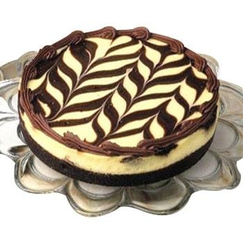 Sugar Free Marble Truffle Cake