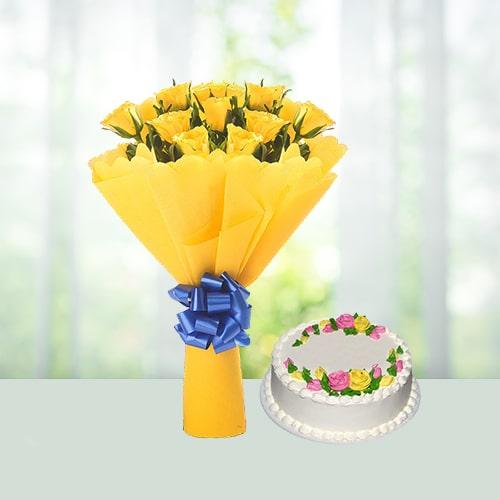 Flowers Bouquet Sunshine