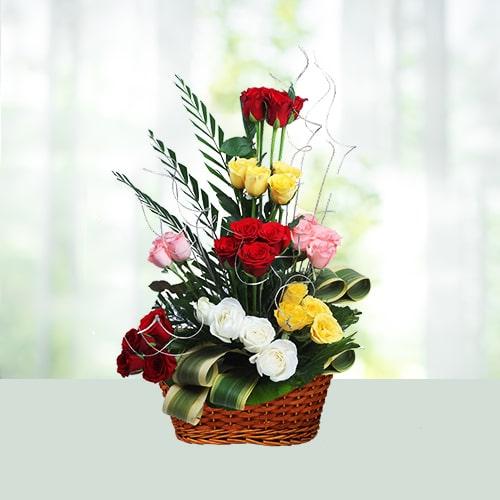 Joyful Flower Basket Love