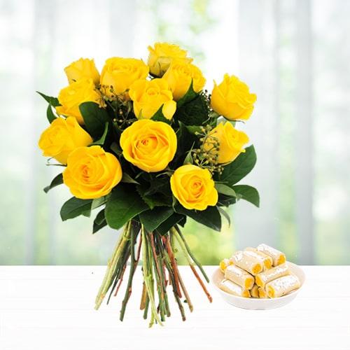 Kaju Roll and Roses