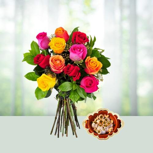 Bihu Kaju Sweets and Roses