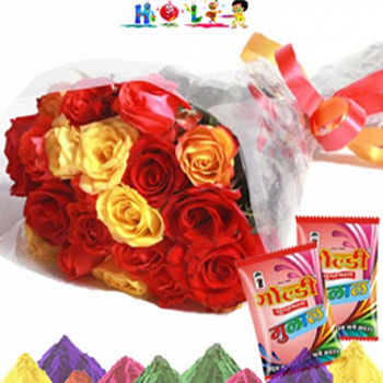 Special Roses on Holi