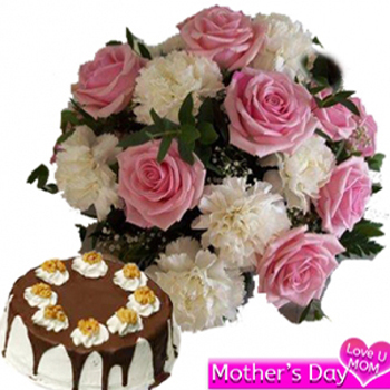 Special Flower n cake Combo
