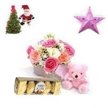 Christmast Lovely Gift Basket