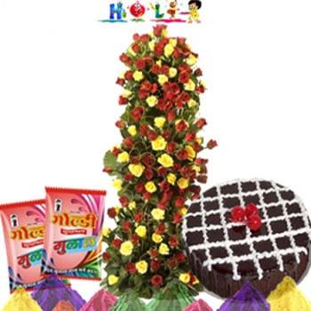 Life Size Holi Celebration