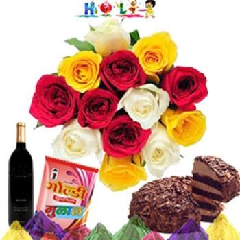 Holi Colorful Celebration