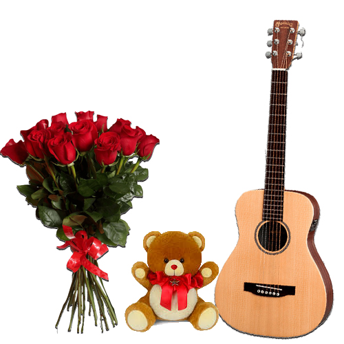 Red Love Combo With Guitarist