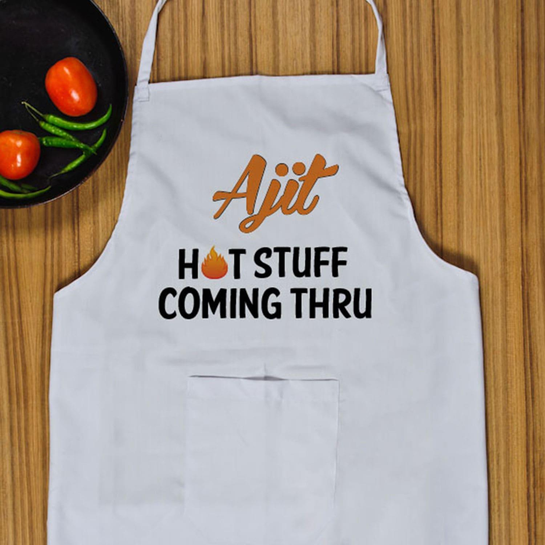 Hot Stuff PersonalizedApron