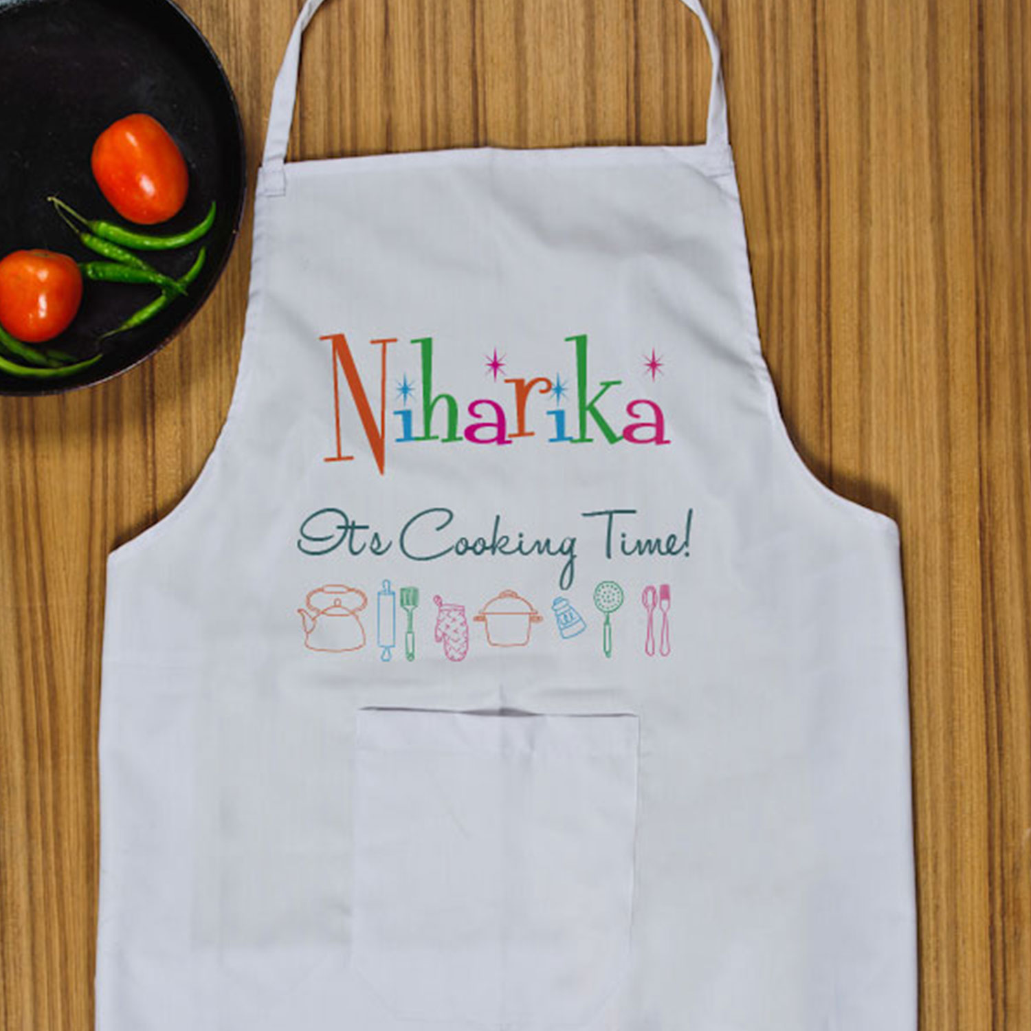 Cooking time PersonalizedApron