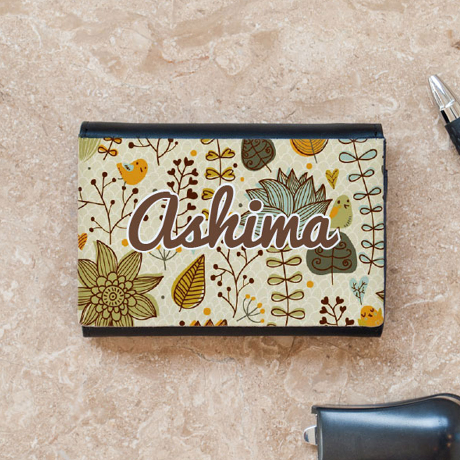 Trendy Business Card Case
