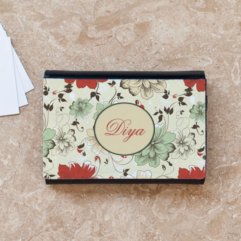 Floral Business Card Case
