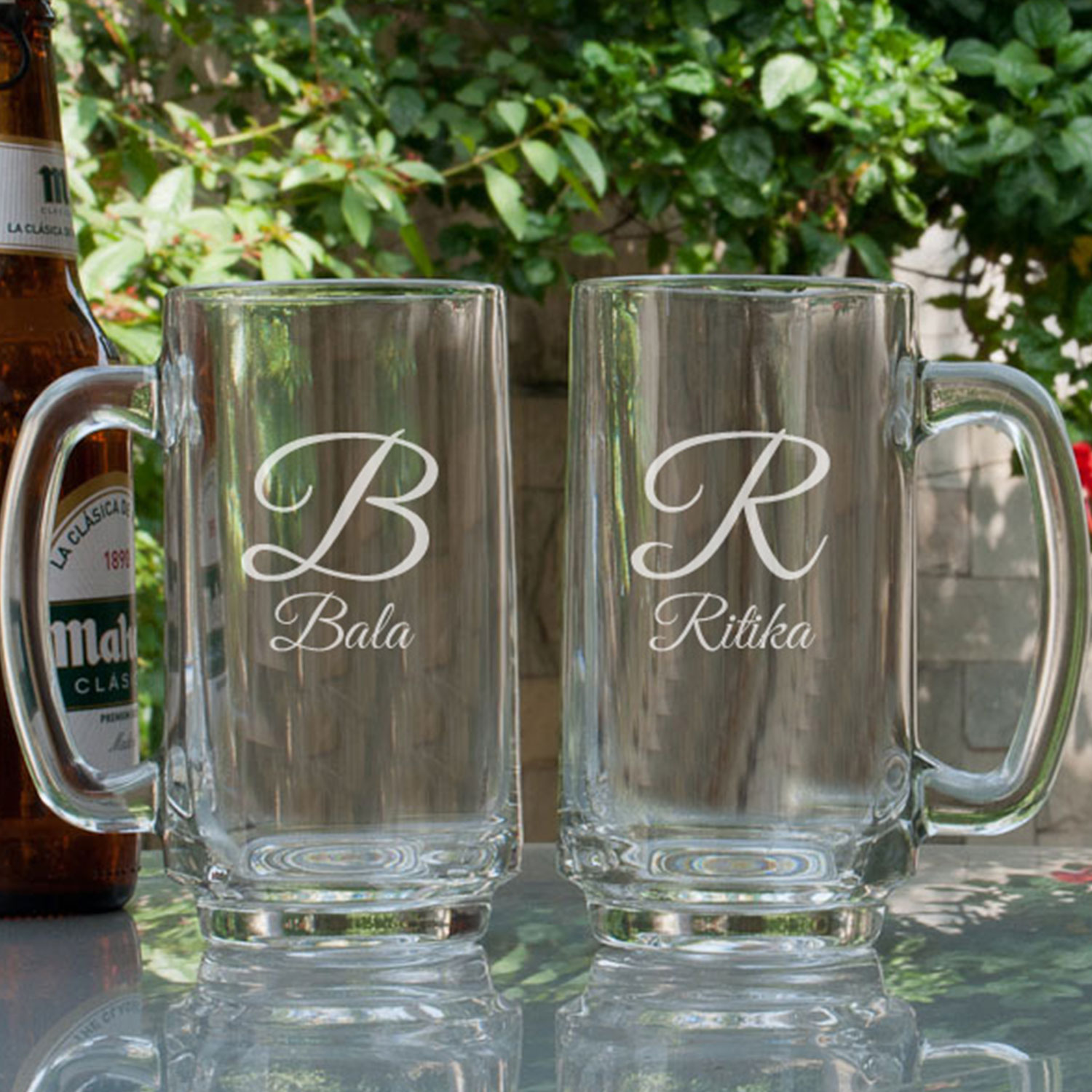 Cool couples Personalized Gift Beer Mugs