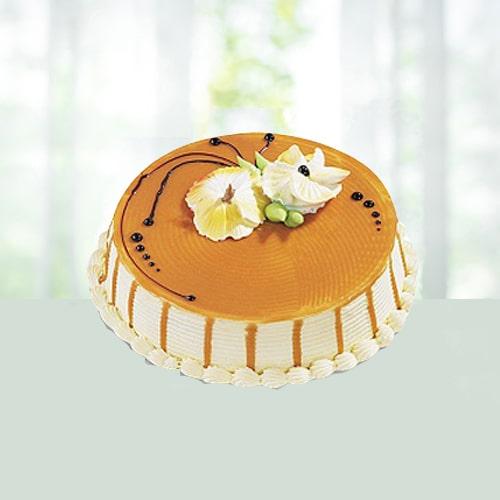 Butterscotch Caramel Cake - 1 kg