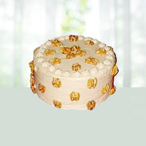 Eggless Butterscotch Cake Half kg