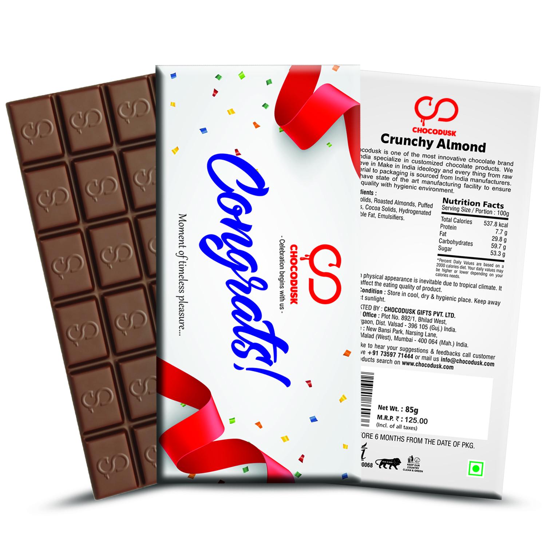 Congrats Chocolate Bar Set of 2