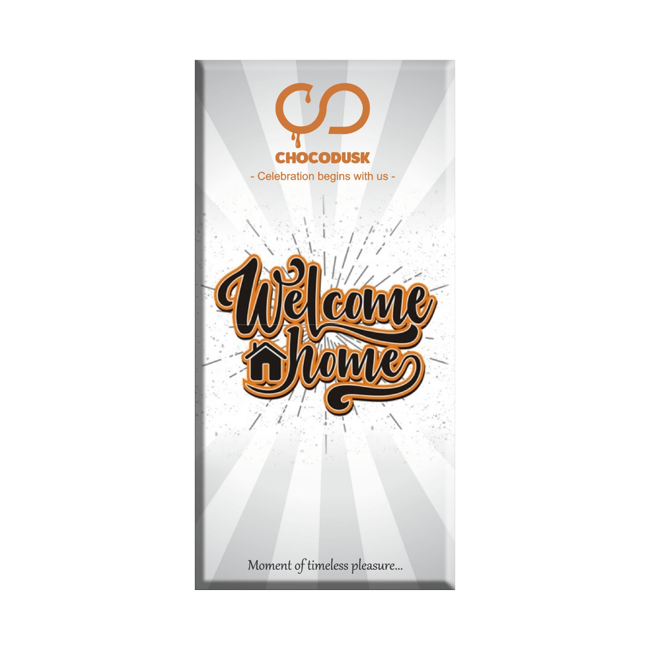 Welcome Home Chocolate Bar 85 gram Set of 2