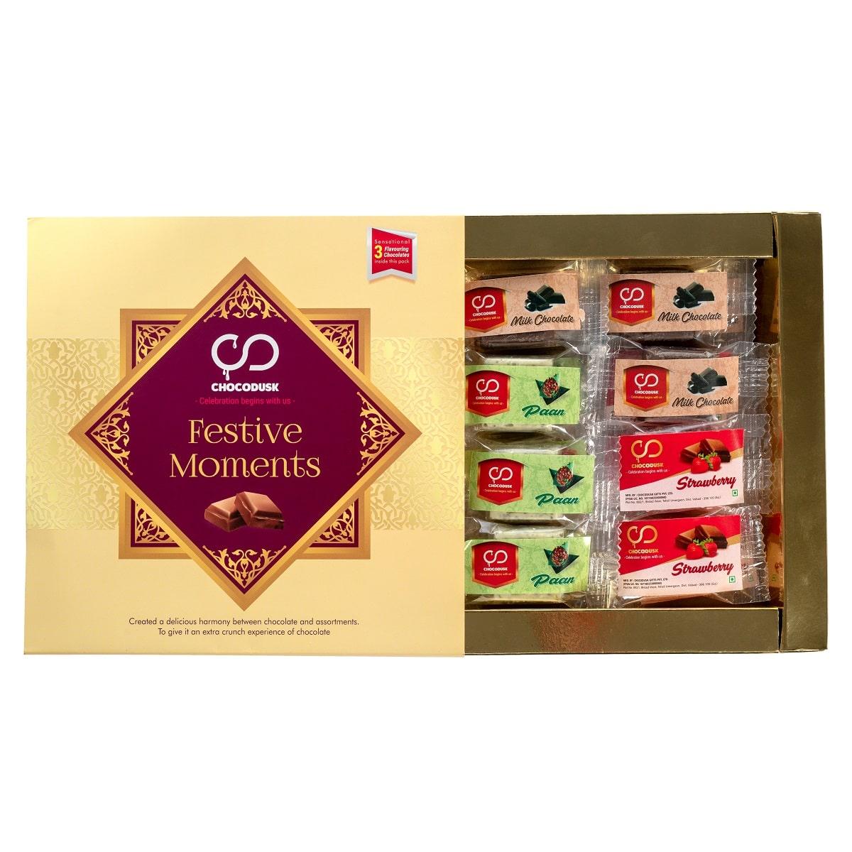 Festive Moment Chocolate Assorted Gift Box, 150 gram,Set Of 2 |