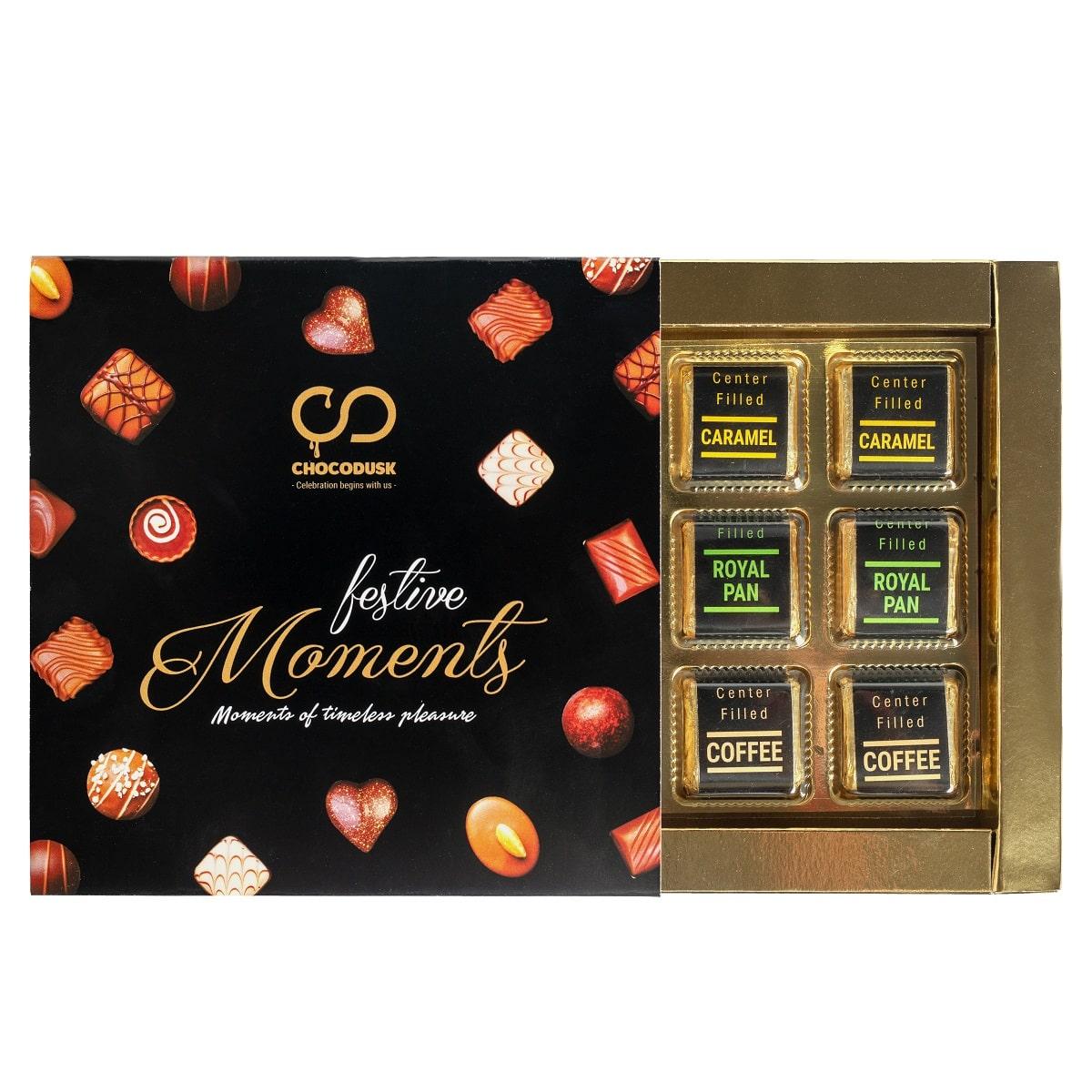 Chocodusk Premium Chocolate Assorted Gift Box, 180 gram ,Set Of 2