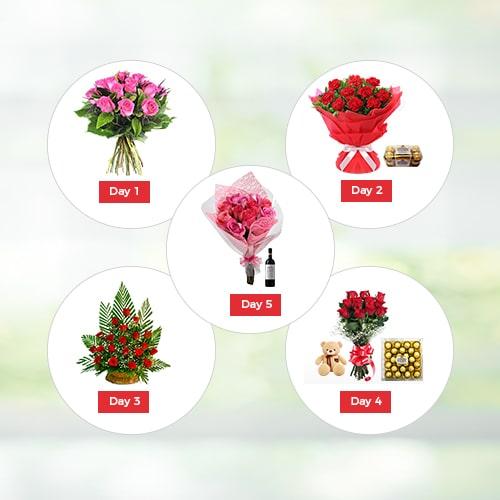 5 Days Valentine Gifts