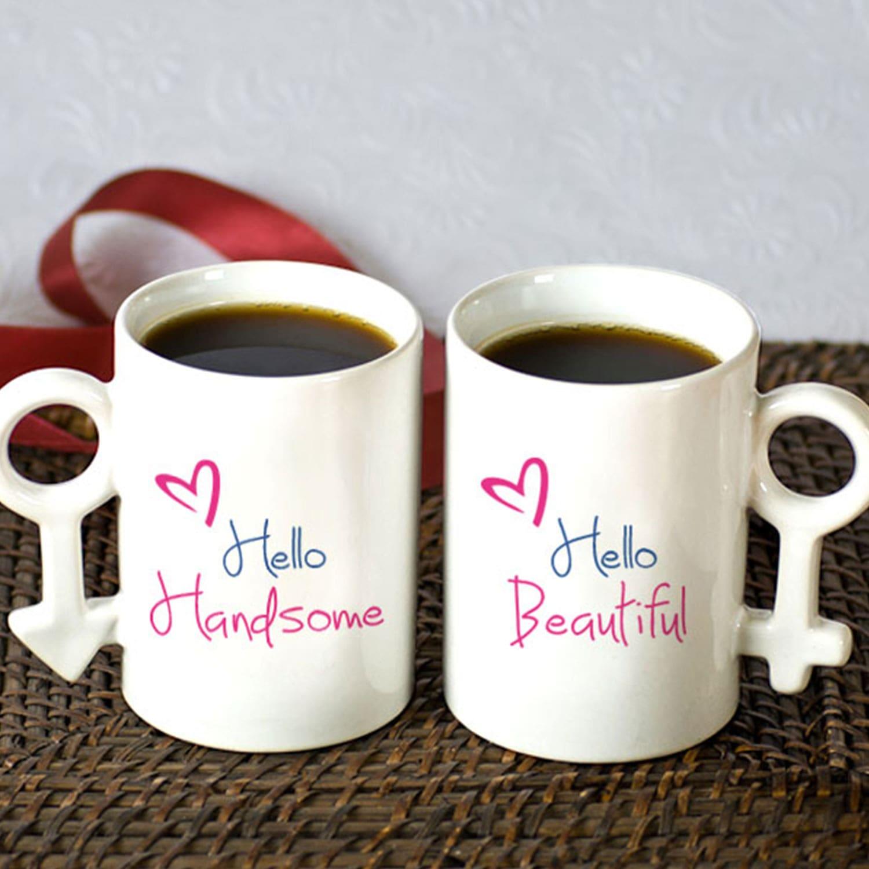 Handsome and Beautiful Couple Mug