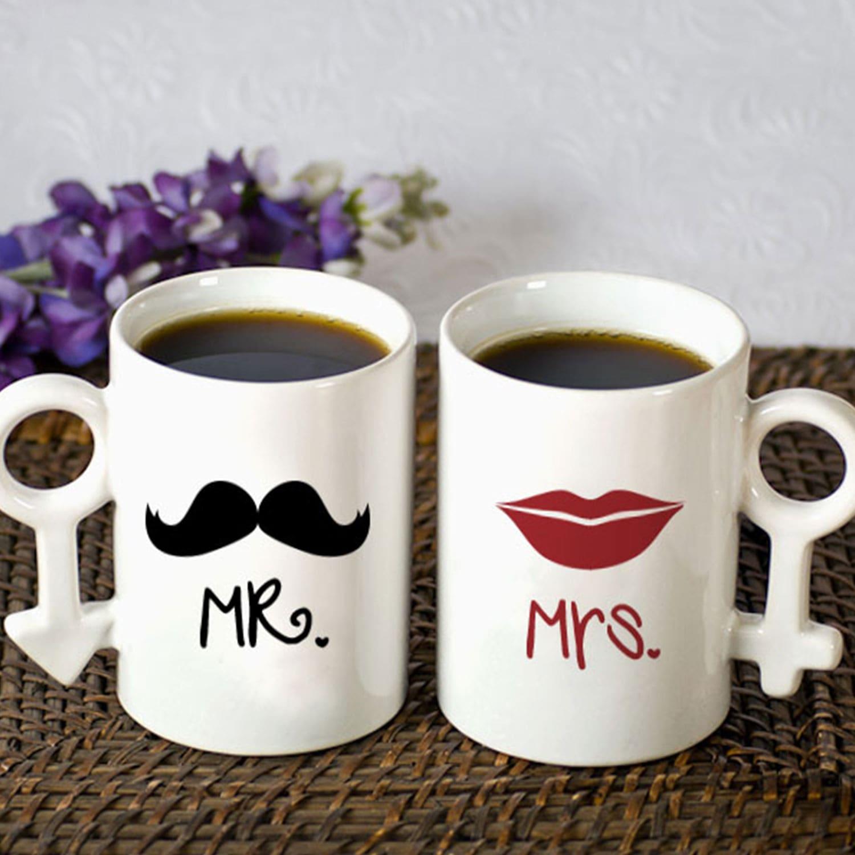 Cool Mr and Mrs Couple Mug