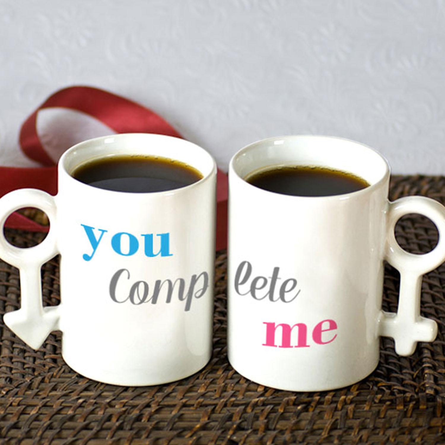 You Complete me Personalized Couple Mug