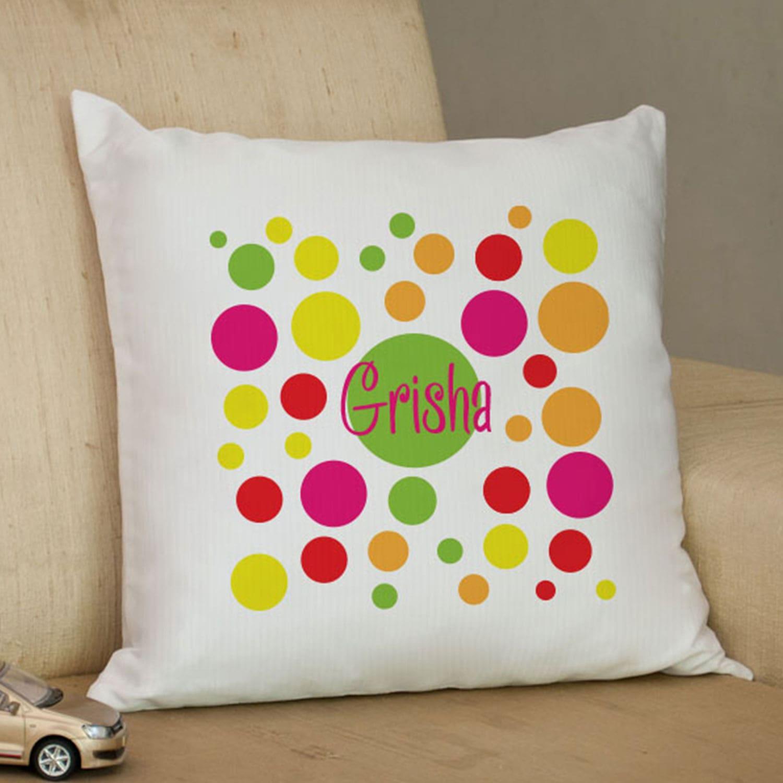Sweet Girl Personalized Cushion