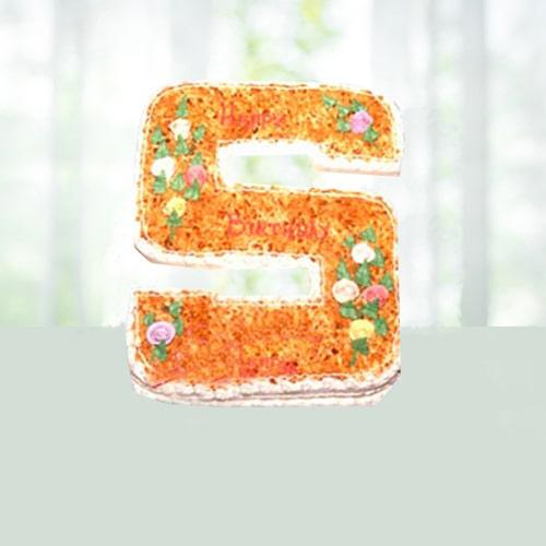 Designer Alphabet Cakes