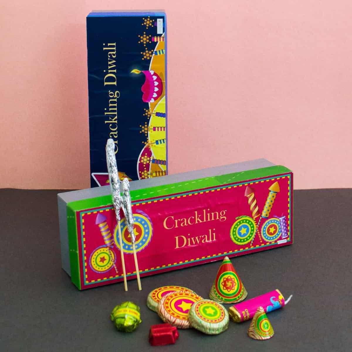 Diwali Gift- Diwali Crackers Chocolate Box