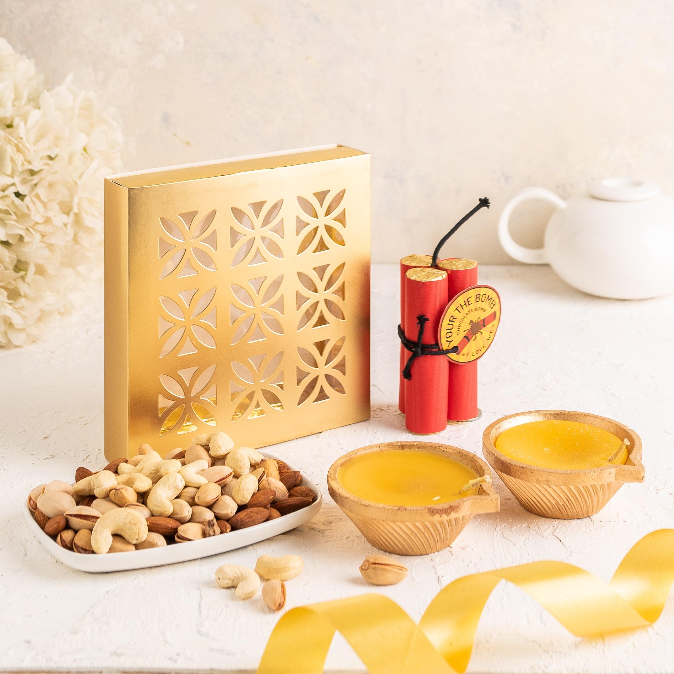 Diwali Gift- Dry Fruit Diwali Combo