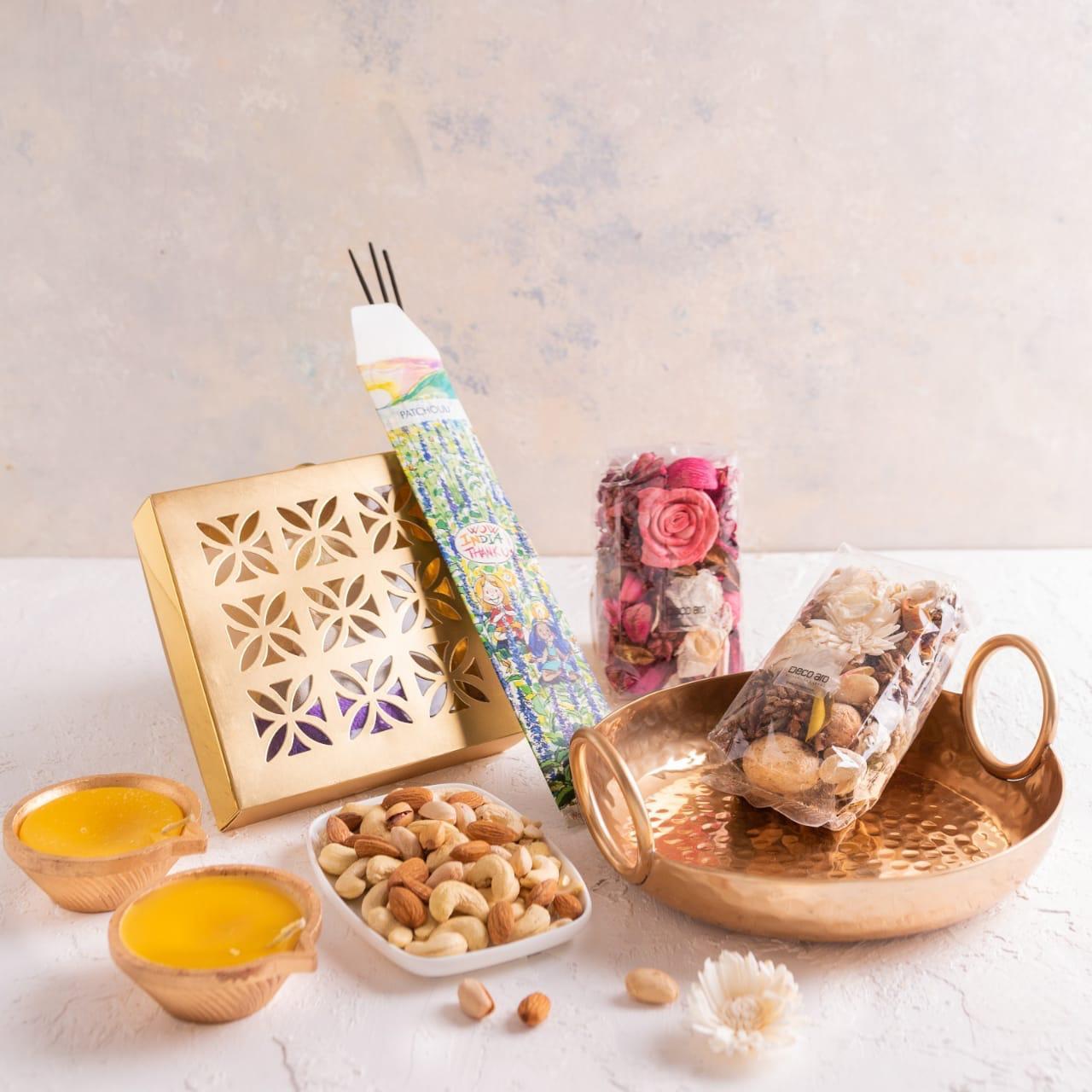 Diwali Gift- Mini Thali Hamper
