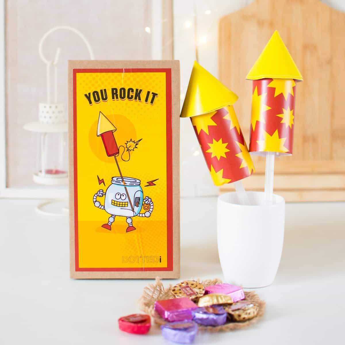 Diwali Gift- Rocket Chocolate